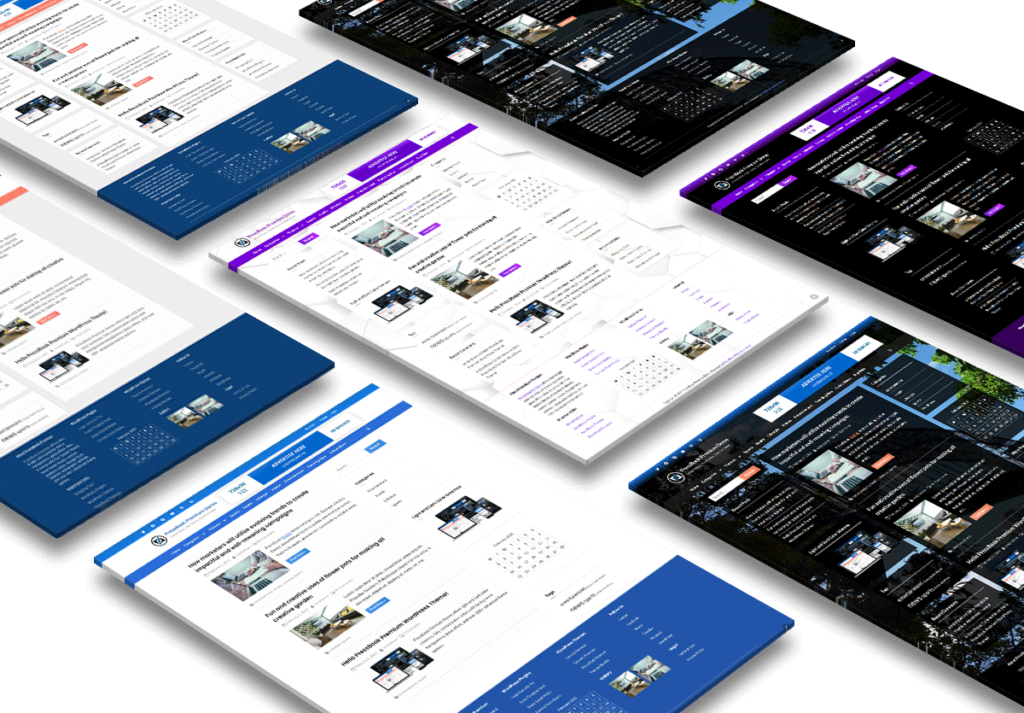 Dark Light Multi-purpose WordPress theme - PressBook Premium