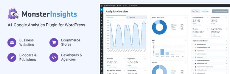 Google Analytics by MonsterInsights WordPress Plugin