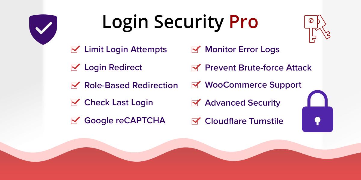 Login Security Pro - WordPress Plugin