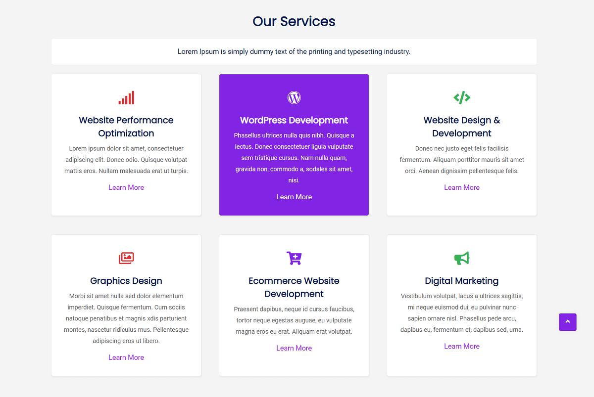 Services - Galaxis Premium