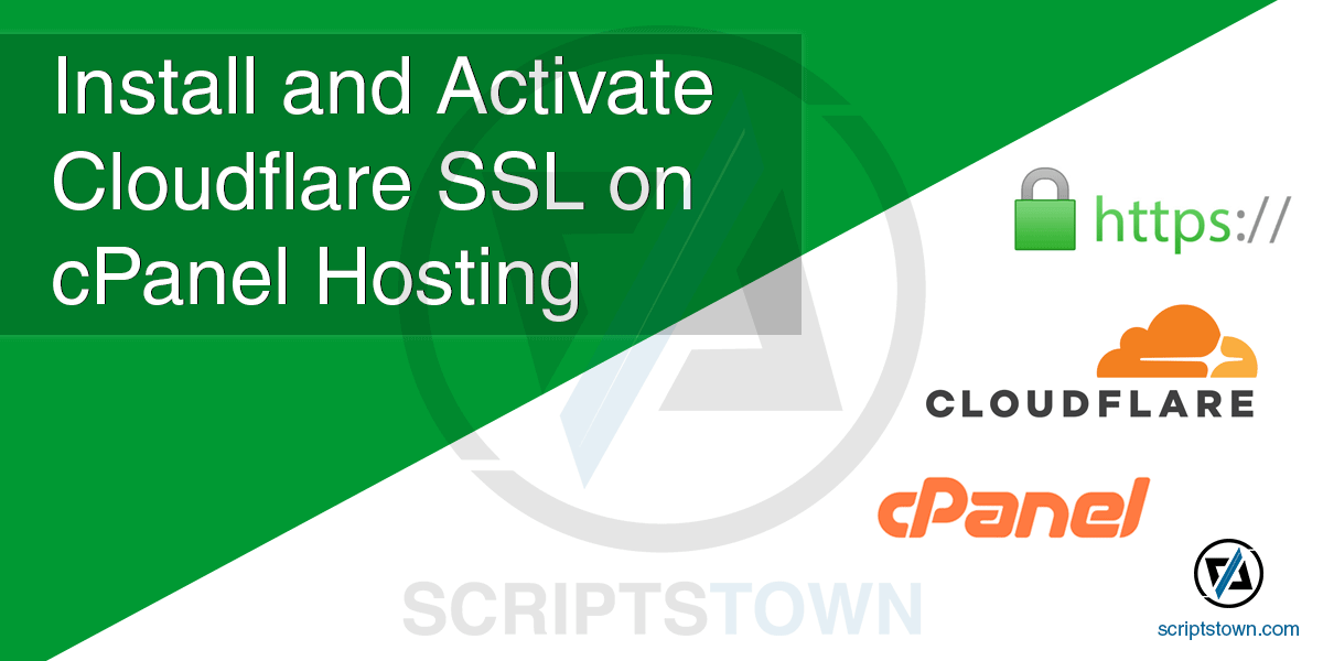 How to Install and Activate Cloudflare SSL on GoDaddy cPanel Hosting