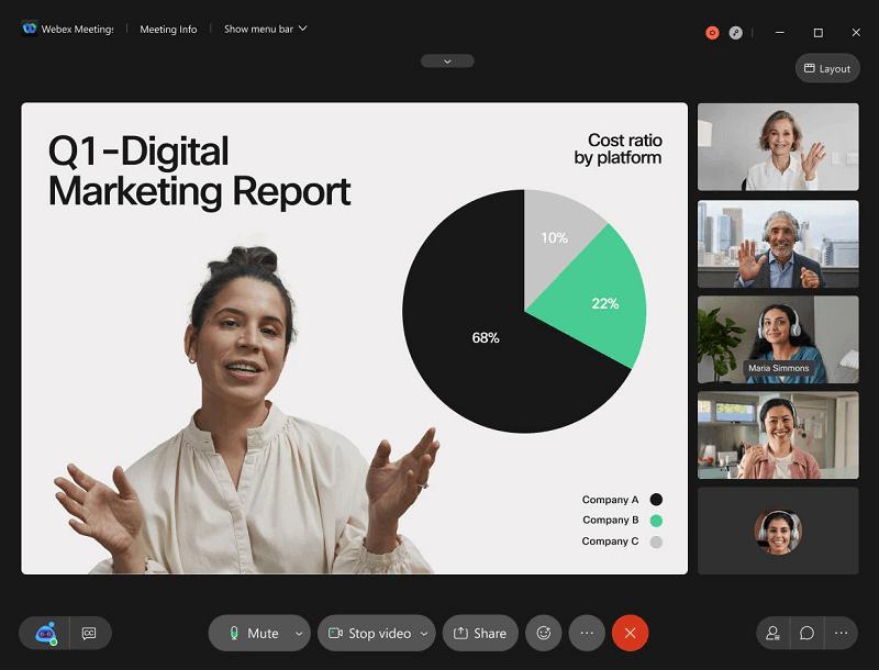 Cisco Webex - Video Conferencing