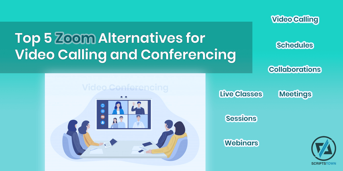 Top 5 Zoom Alternatives for Video Calling and Conferencing