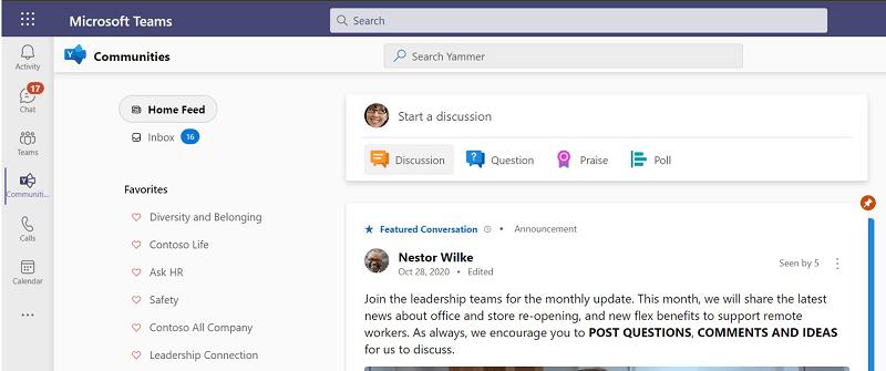 Business Communication - Microsoft Teams