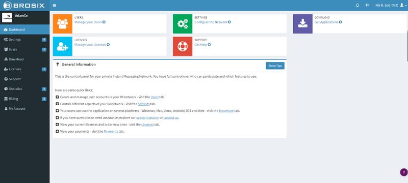 Team Communication Platform - Brosix